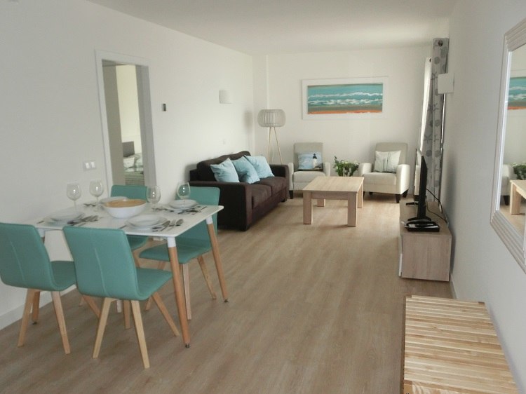 Apartment on the first line of the beach in Cala Millor
